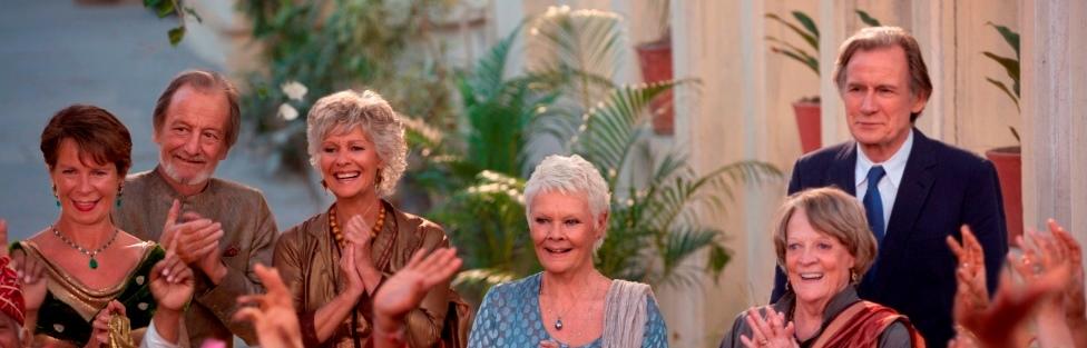 Richard Gere y David Strathairn llegan al Hotel Marigold